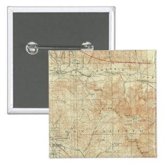 San Jacinto quadrangle showing San Andreas Rift Buttons