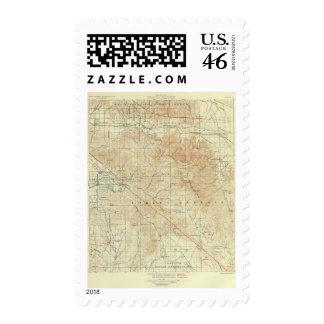 San Jacinto quadrangle showing San Andreas Rift Stamp