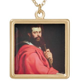 San Jaime el apóstol, c.1612-13 (aceite en el pane Colgante Cuadrado