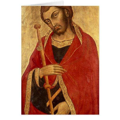 San Jaime el grande Tarjeta