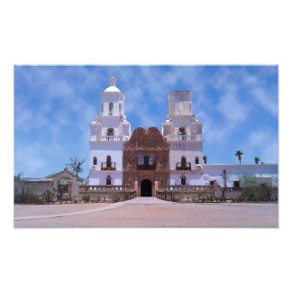San Javier del Bac Mission - Tucson, AZ Fotografía