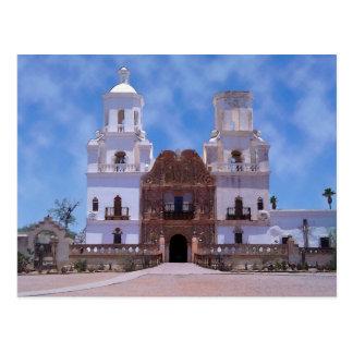 San Javier del Bac Mission - Tucson, AZ Postal