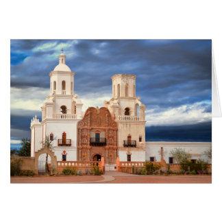 San Javier del Bac Tarjeta De Felicitación