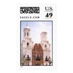 San Javier Mission in Tucson AZ Postage Stamps