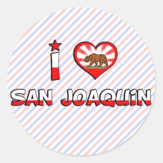 San Joaquin, CA Stickers