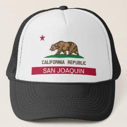 San Joaquin County California Trucker Hat