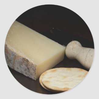San Joaquin Gold Cheese Stickers