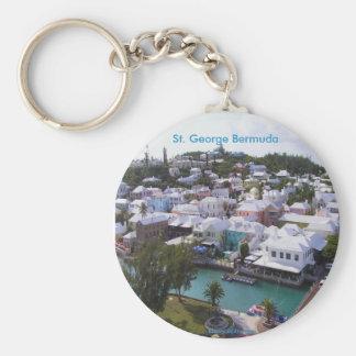 San Jorge Bermudas Llavero Personalizado