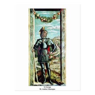 San Jorge de Andrea Mantegna Postales