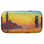 San Jorge Maggiore en la oscuridad Claude Monet Galaxy SIII Cárcasa