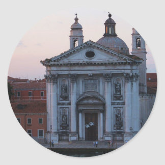 San Jorge Maggiore - Venecia, Italia Pegatinas Redondas
