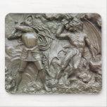 San Jorge que lucha el dragón Mouse Pads