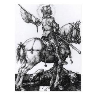 San Jorge y el dragón, 1508 Postal