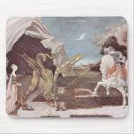 San Jorge y el dragón Alfombrilla De Ratón