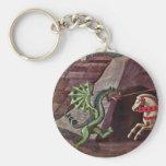 San Jorge y el dragón de Uccello Pablo Llaveros Personalizados