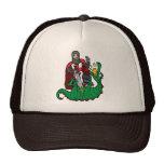 San Jorge y el dragón Gorras