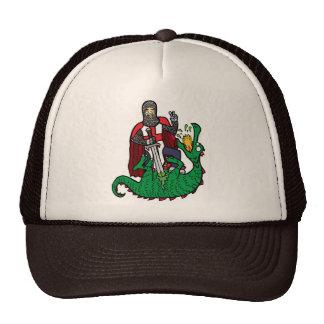 San Jorge y el dragón Gorros Bordados