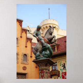 San Jorge y el dragón Impresiones