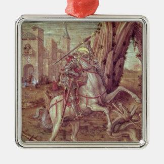 San Jorge y el dragón Ornamento Para Reyes Magos