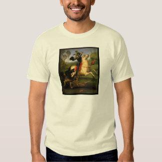 San Jorge y el dragón Remeras