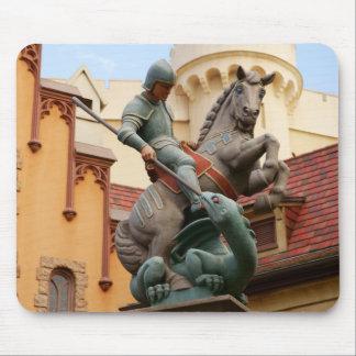 San Jorge y el dragón Tapete De Ratón
