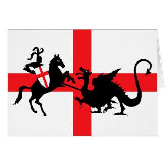 San Jorge y el dragón Felicitación