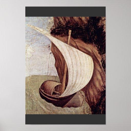 San Jorge y la princesa Details By Pisanello ( Posters