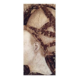 San Jorge y la princesa Details By Pisanello Tarjeta Publicitaria