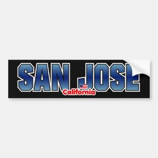 San Jose Bumper Bumper Sticker