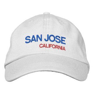 San José* California Embroidered Baseball Cap