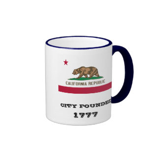 San Jose* California Mug Ringer Mug