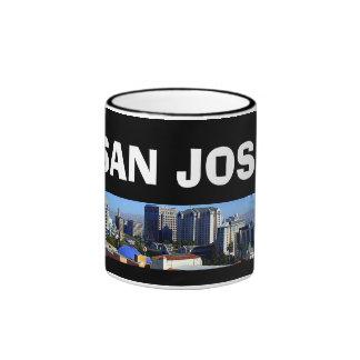 San José* California Panoramic Mug