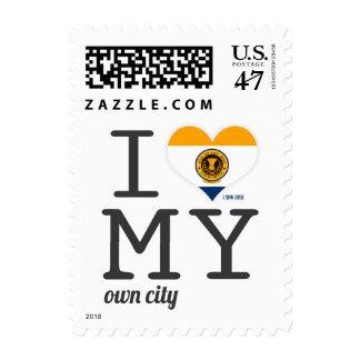 San Jose | California Postage Stamp