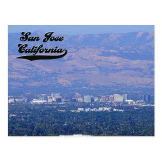 San Jose California Postcard