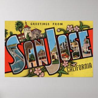 San Jose, CaliforniaLarge Letter Scenes 2 Poster