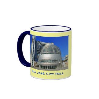 San José* City Hall Coffee Mug Ringer Mug