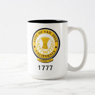 San Jose* Coffee Mug Two-Tone Mug
