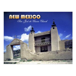 San Jose de Gracia Church, Las Trampas, NM Postcard
