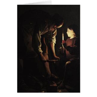 San José, el carpintero, c.1640 Tarjeta De Felicitación