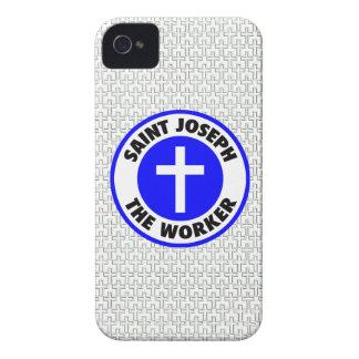 San José el trabajador iPhone 4 Cárcasa