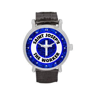 San José el trabajador Reloj