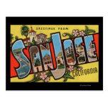 San Jose, escenas de la letra de CaliforniaLarge Postal