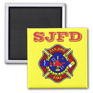 San Jose Fire Department Magnet