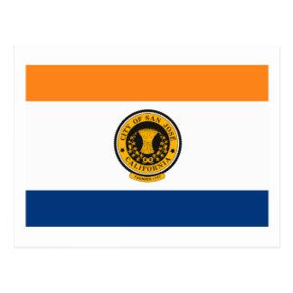 San Jose Flag Postcard