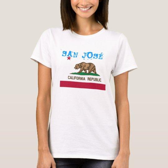 San Jose Flag t-shirt