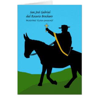 San José Gabriel Brochero, Nuestro Cura Gaucho Card