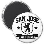 San Jose Heraldry 2 Inch Round Magnet