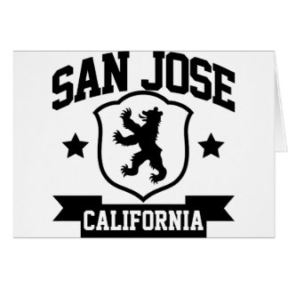 San Jose Heraldry Card
