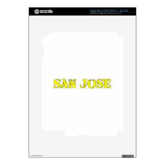 San Jose iPad 3 Skin