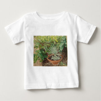 San Jose Mission Garden Painting Baby T-Shirt